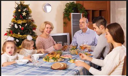 tavolata in famiglia